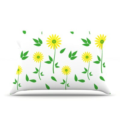 Louise Daisy Pillow Case