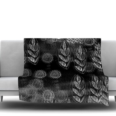 Grey Dream Fleece Throw Blanket Size: 40 L x 30 W
