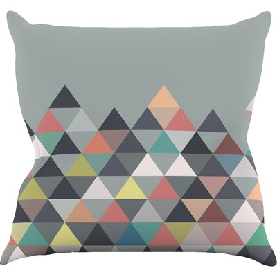 Nordic Combination by Mareike Boehmer Abstract Throw Pillow Size: 20 H x 20 W x 4 D