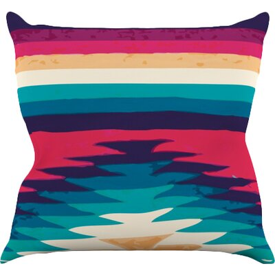 Surf Throw Pillow Size: 18 H x 18 W