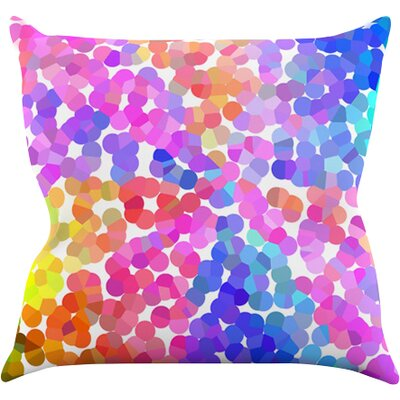 Searching by Beth Engel Throw Pillow Size: 26 H x 26 W x 1 D