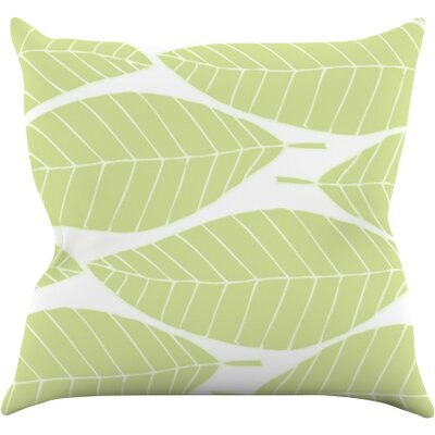 Hojitas by Anchobee Throw Pillow Size: 18 H x 18 W x 1 D