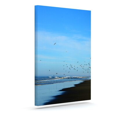 "'Beach Hair' Photographic Print on Canvas Size: 20"" H x 16"" W x 2"" D URBH1750 38185856"