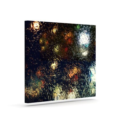 "'Blinded' Graphic Art Print on Canvas Size: 12"" H x 10"" W x 2"" D URBH1461 38184336"