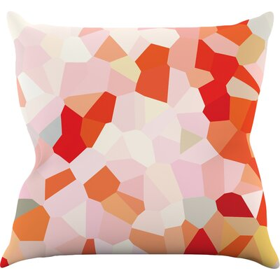 Oooh La La by Iris Lehnhardt Pixel Throw Pillow Size: 26 H x 26 W x 5 D