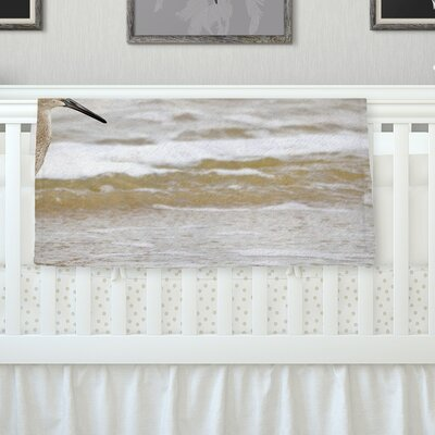 Counting The Waves Throw Blanket Size: 80 L x 60 W