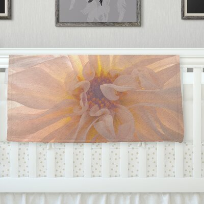 Buy Her Flowers Throw Blanket Size: 40 L x 30 W