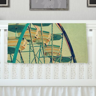 Ferris Wheel Throw Blanket Size: 80 L x 60 W