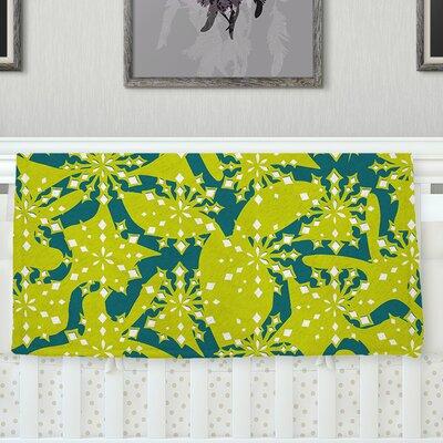 Festive Splash Throw Blanket Size: 80 L x 60 W