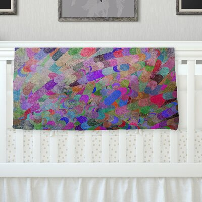 Abstract Throw Blanket Size: 90 L x 90 W