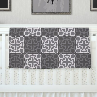 Granny Goes Modern Throw Blanket Size: 80 L x 60 W
