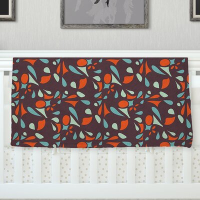 Retro Tile Throw Blanket Size: 40 L x 30 W