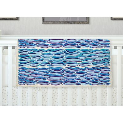 The High Sea Throw Blanket Size: 80 L x 60 W