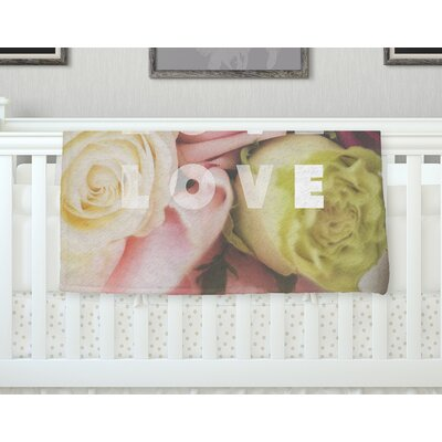 Love Love Love Throw Blanket Size: 60 L x 50 W