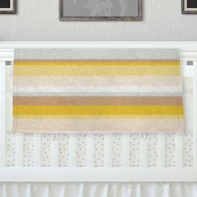 Desert Stripes Fleece Throw Blanket Size: 40 L x 30 W