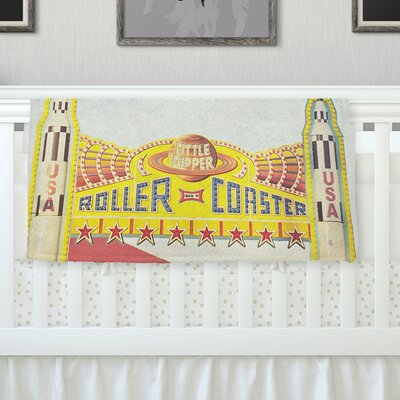 Life Is A Rollercoaster Throw Blanket Size: 80 L x 60 W