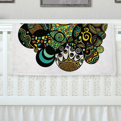 Multicolor Life Throw Blanket Size: 40 L x 30 W