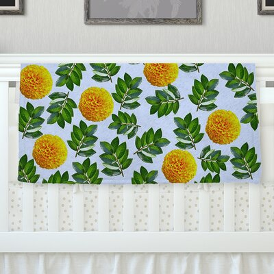 More Marigold by Sreetama Ray Fleece Throw Blanket SR1025AFB01