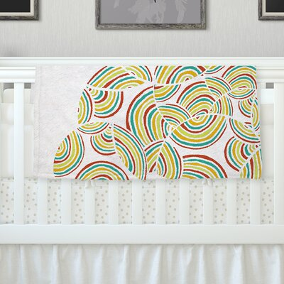 Rainbow Sky Throw Blanket Size: 80 L x 60 W