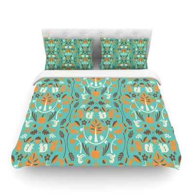 Autumn Harvest by Allison Beilke Featherweight Duvet Cover Size: Queen, Fabric: Woven Polyester