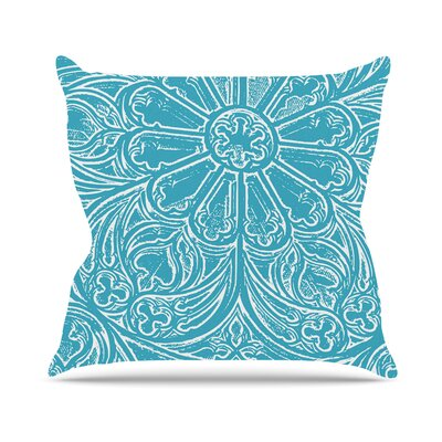 Pitter by Belinda Gillies Throw Pillow