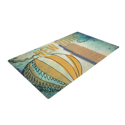New York Area Rug Rug Size: 2 x 3