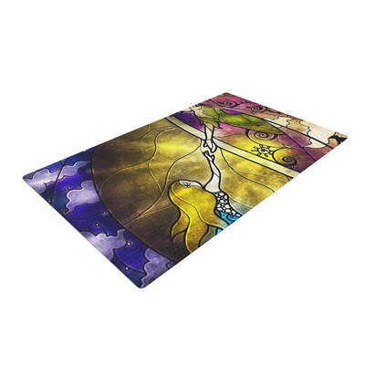 Fairy Tale off to Neverland Area Rug Rug Size: 4 x 6