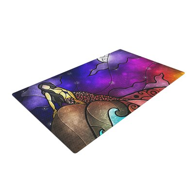 Fairy Tale Mermaid Area Rug Rug Size: 4 x 6