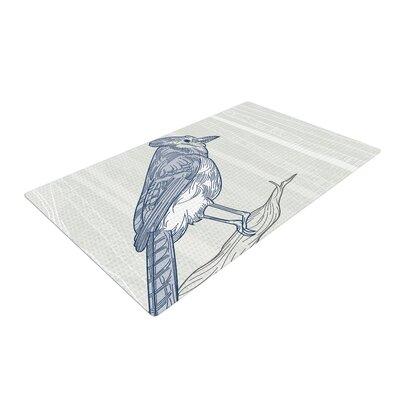 Jay Blue Area Rug Rug Size: 2 x 3