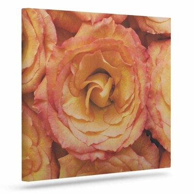 'Bed Of Roses' Photographic Print on Canvas EAUB4064 38433925