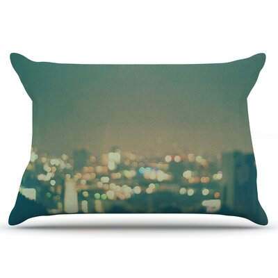 Myan Soffia Anniversary City Lights Pillow Case