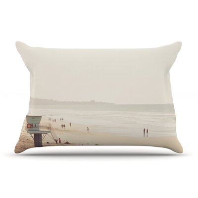 Myan Soffia Beach Day Beach Ocean Pillow Case