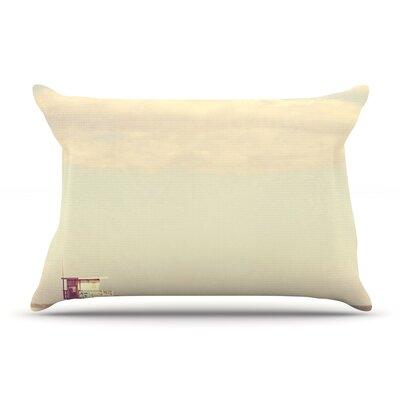 Myan Soffia Toffee - Marshmallow Sandy Beach Pillow Case