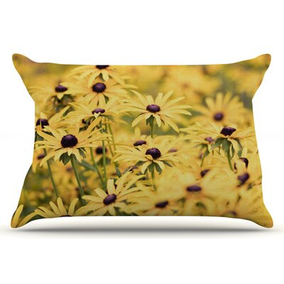 Debbra Obertanec Pantone Flower Daisy Pillow Case