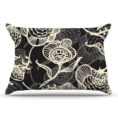 Gill Eggleston Future Nouveau Lite Pillow Case Color: Black/Orange