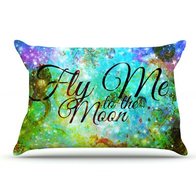 Ebi Emporium Fly Me To The Moon Pillow Case