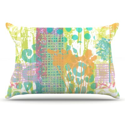 Chickaprint Dazed Pastel Splatter Pillow Case