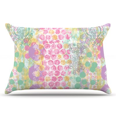 Chickaprint Impression Pastel Mix Pillow Case
