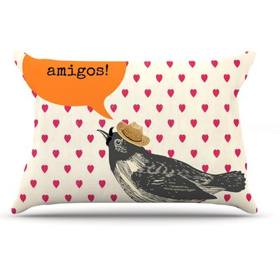 Sreetama Ray Hola Spanish Pillow Case