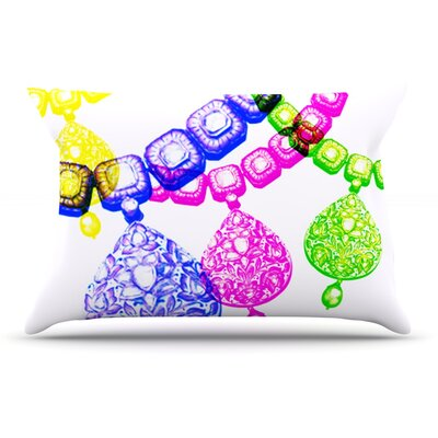 Sreetama Ray Precious Jewelry Pillow Case
