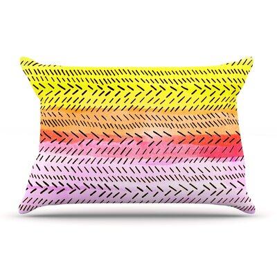 Sreetama Ray Sunshine Warm Paint Pillow Case