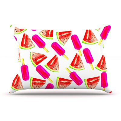 Sreetama Ray Strawberry & Watermelon Pillow Case
