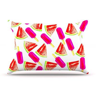Sreetama Ray Strawberry & Watermelon Pillow Case