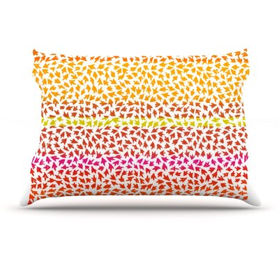 Sreetama Ray Sunset Arrows Abstract Pillow Case