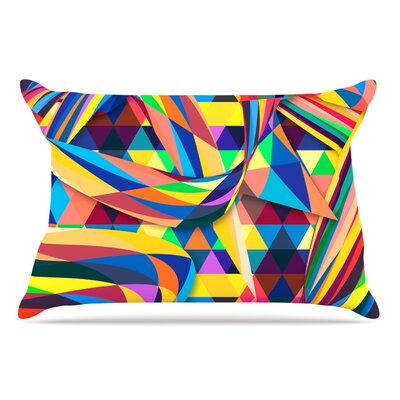 Danny Ivan The Optimist Geometric Pillow Case