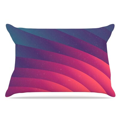 Danny Ivan Reservoir Lines Geometric Pillow Case