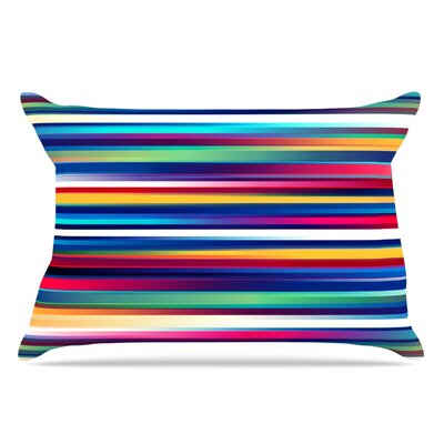 Danny Ivan Blurry Lines Pillow Case