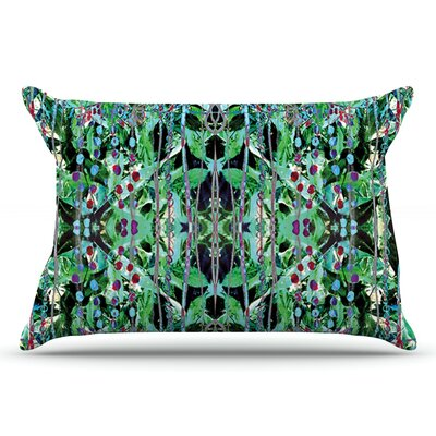 Danii Pollehn Grun Abstract Pillow Case