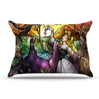 Mandie Manzano I Know You Fairytale Forest Pillow Case