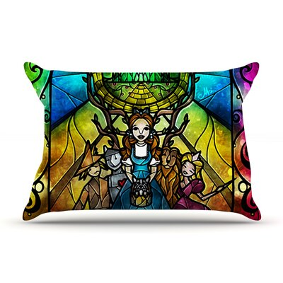 Mandie Manzano Wizard Of Oz Fantasy Pillow Case